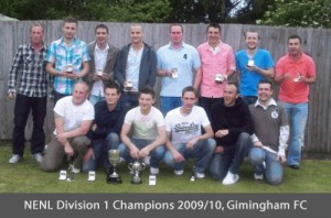 Division 1 Champions 2009/10 - Gimingham FC